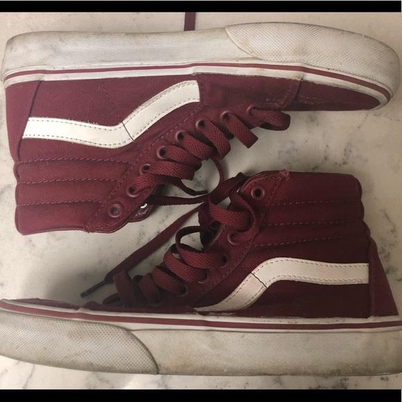 77102a775f Vans Shoes - Maroon Women s Vans
